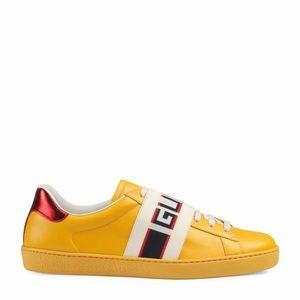 Men's Ace #Gucci Stripe Sneaker
